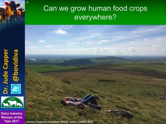 Human crops everywhere blue